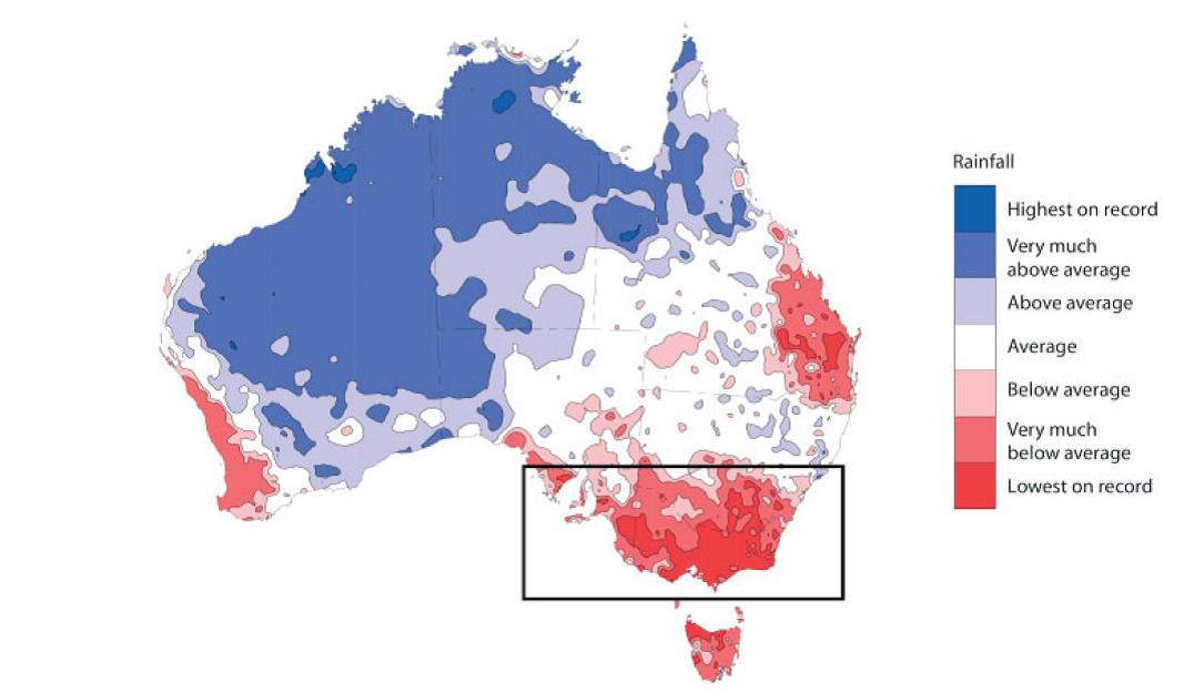 Australian rainfall